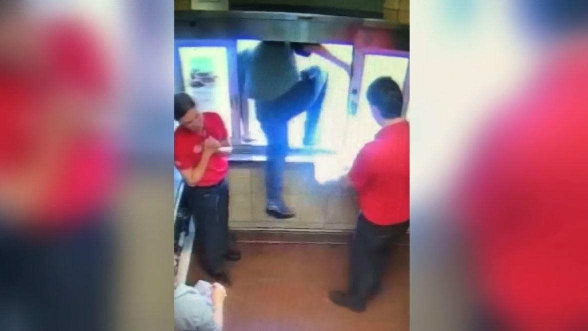 Georgia Chick-fil-A employee jumps through drive-thru window to save choking boy – 10TV