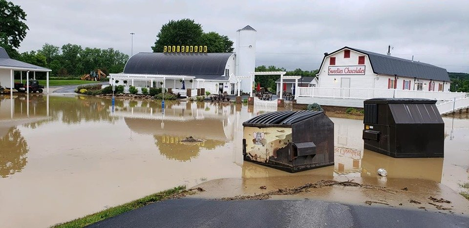 Grandpa's Cheesebarn & Sweeties Chocolates closes Ashland location due to flooding – WJW FOX 8 News Cleveland