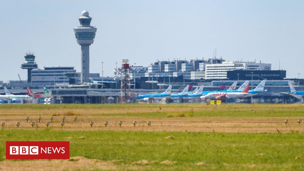 Planes grounded at Amsterdam's Schiphol due to fuel supply fault – BBC News