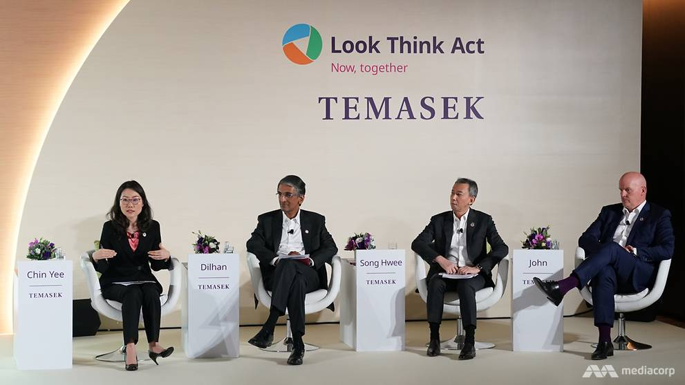 Temasek's net portfolio value hits record high for third year running – CNA