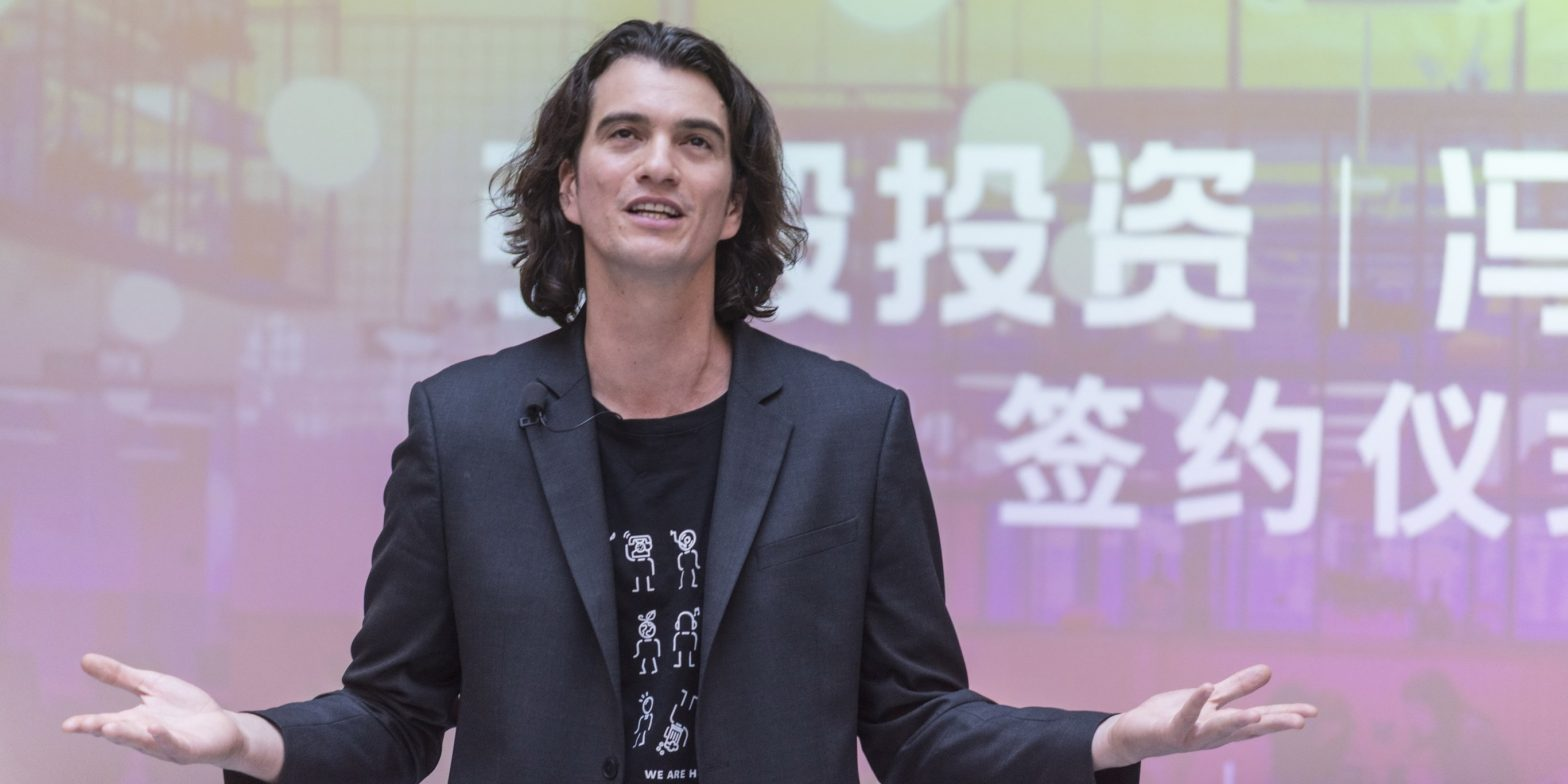 WeWork reportedly pressured by SoftBank to shelve IPO – Business Insider