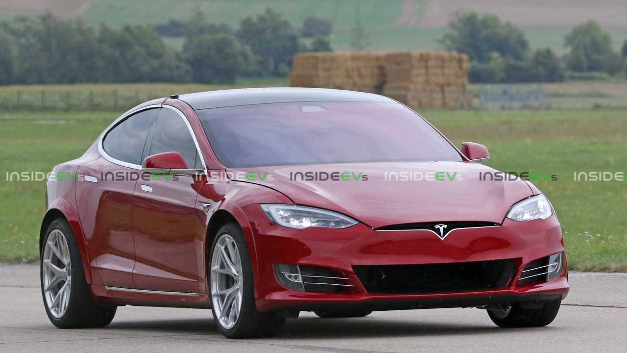 Highly Modified Tesla Model S Spotted Testing Near Nurburgring – InsideEVs