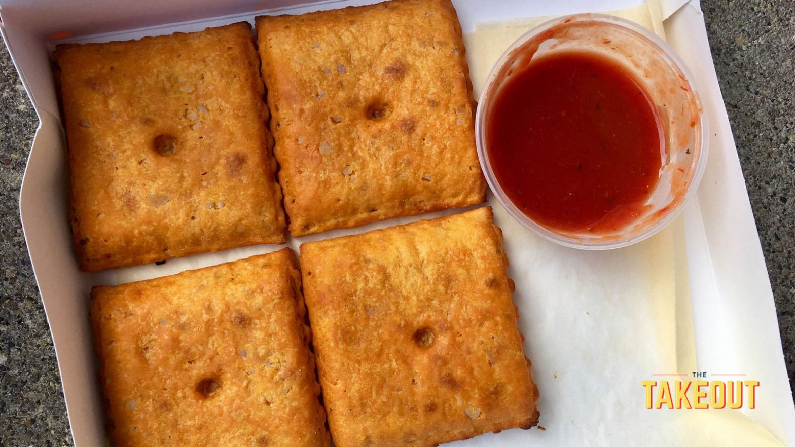 Pizza Hut's Stuffed Cheez-It Pizza tests the limits of snack food fusion – The Takeout