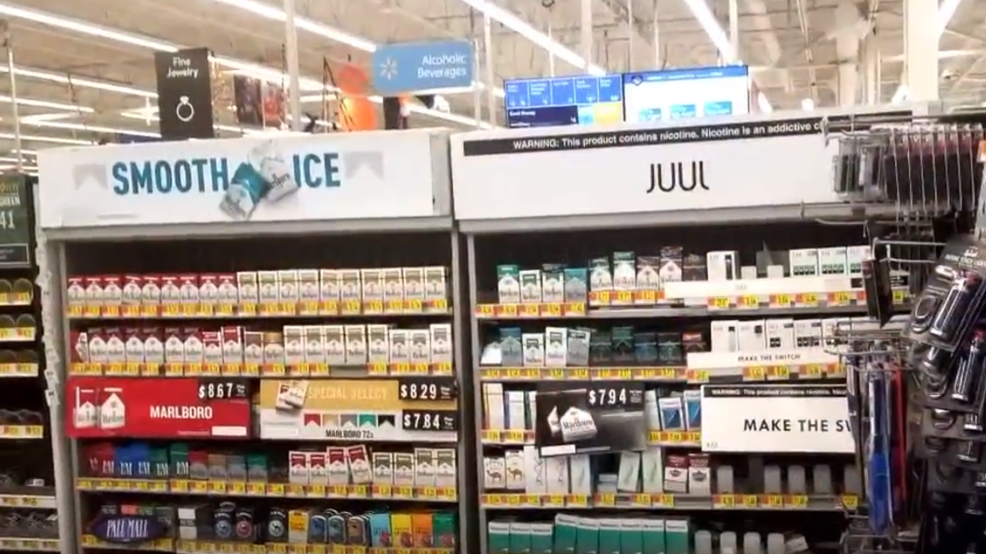 Walmart to stop selling e-cigarettes; Washington state reports 5th vaping-related illness – KOMO News