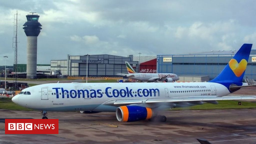 Thomas Cook set for last-ditch rescue talks – BBC News