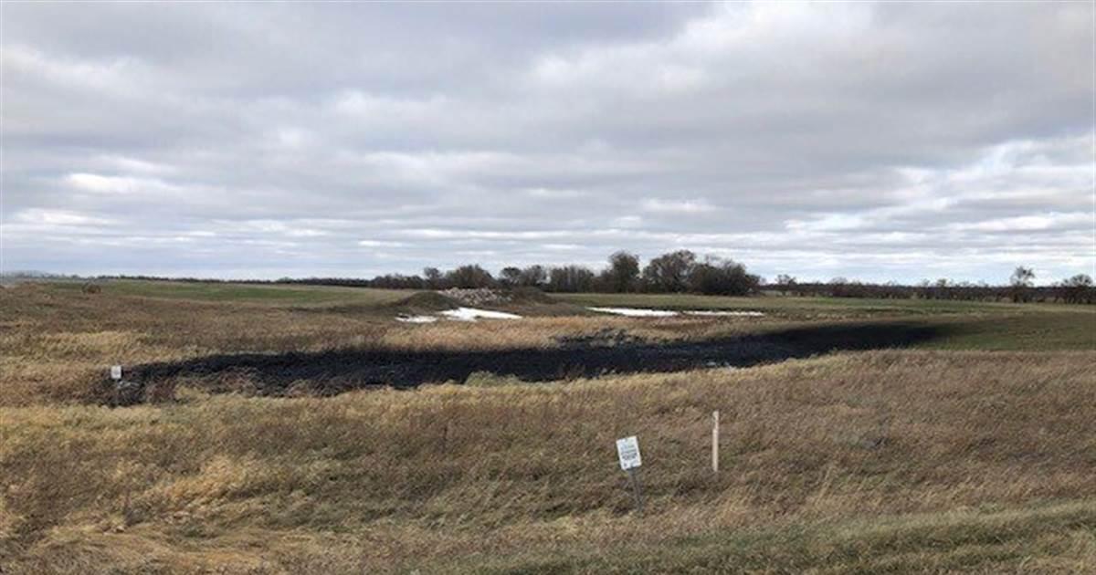 Leak in Keystone pipeline spills 9,000 barrels of oil in North Dakota – NBC News
