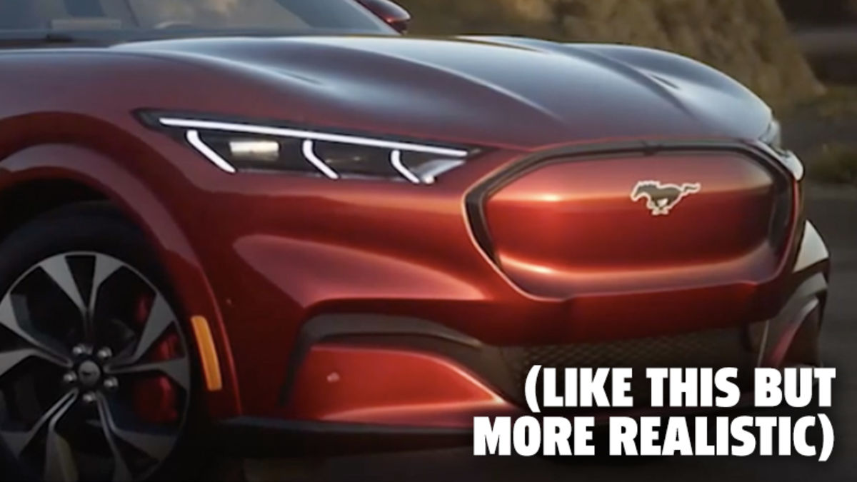 The 2021 Ford Mustang Mach-E Still Looks Good In This New Leaked Photo – Jalopnik