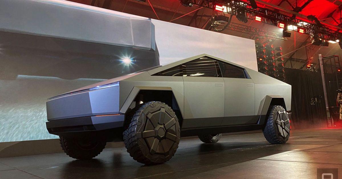 Elon Musk took Tesla's Cybertruck for a weekend drive around LA – Engadget