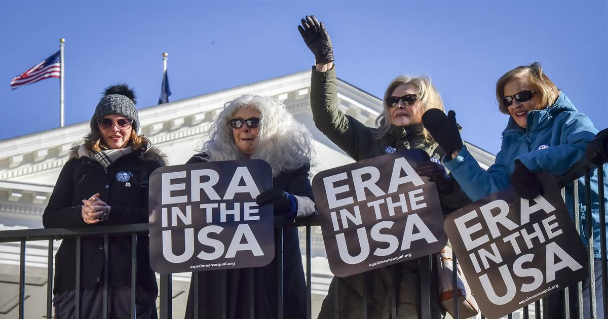 Virginia moves to brink of becoming 38th state to ratify Equal Rights Amendment – NBCNews.com