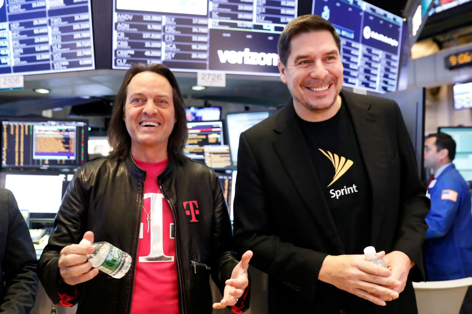 Sprint and T-Mobile agree to give Deutsche Telekom slightly higher stake in combined company – CNBC