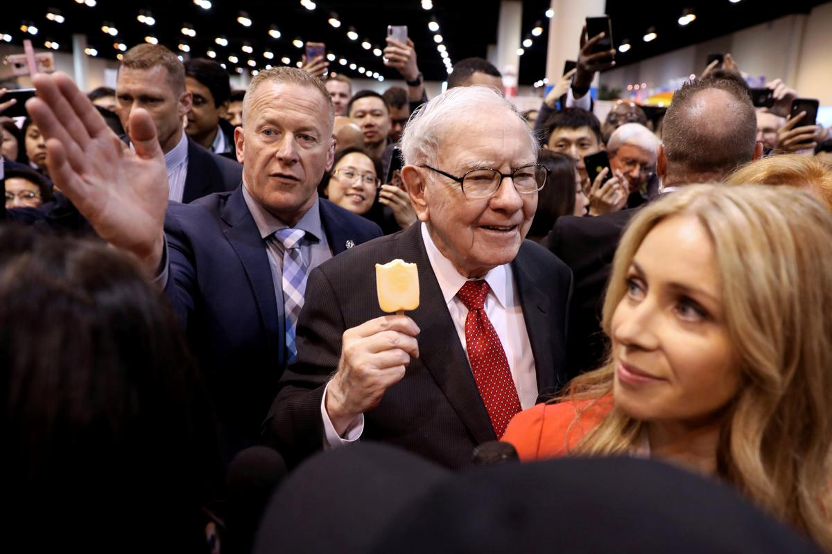 Buffett defends Berkshire stock push, reassures on future as profit smashes record – Reuters