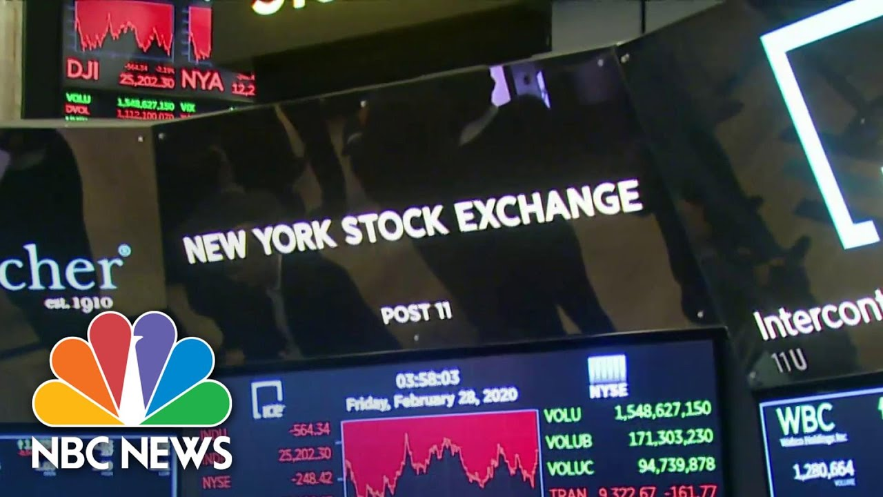 Wall Street Closes Worst Week Since Financial Crisis Amid Coronavirus Fears | NBC Nightly News – NBC News