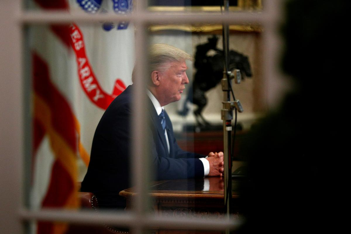 Sell signal: Trump's shallow virus plan blows floor out of markets – Reuters