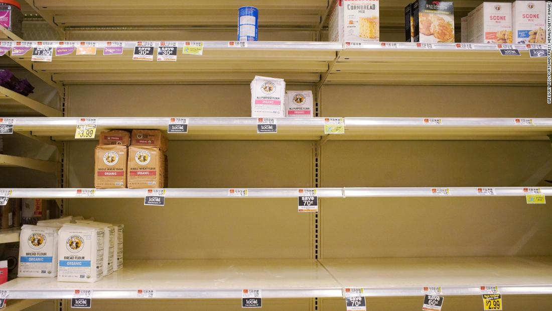 Forget pork. Here's why you can't buy flour – CNN