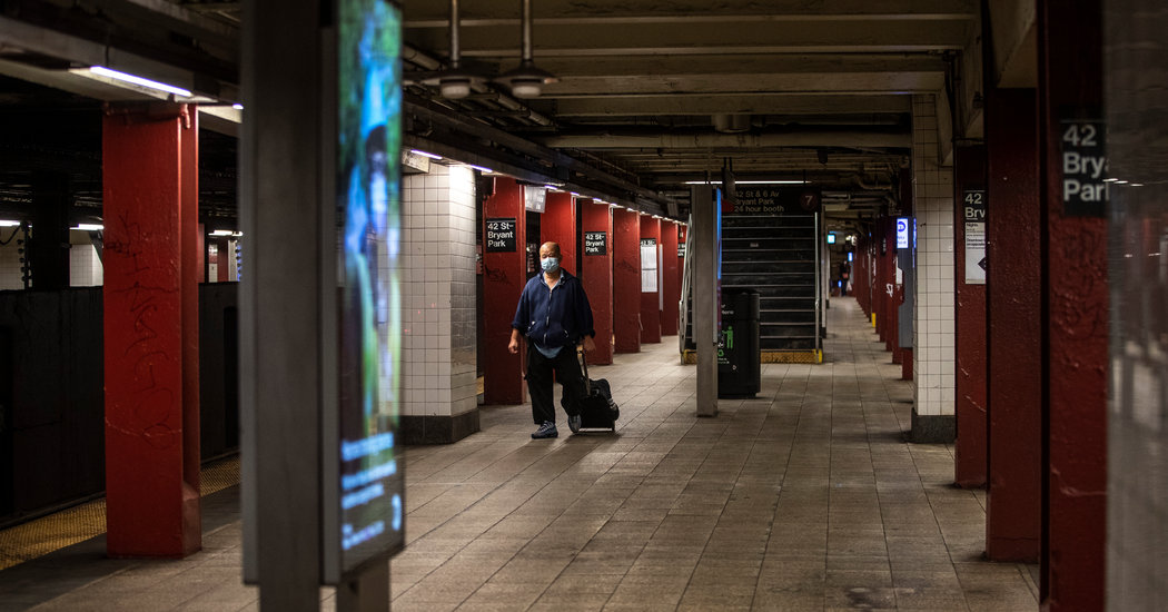 Can 8 Million Daily Riders Be Lured Back to N.Y. Mass Transit? – The New York Times