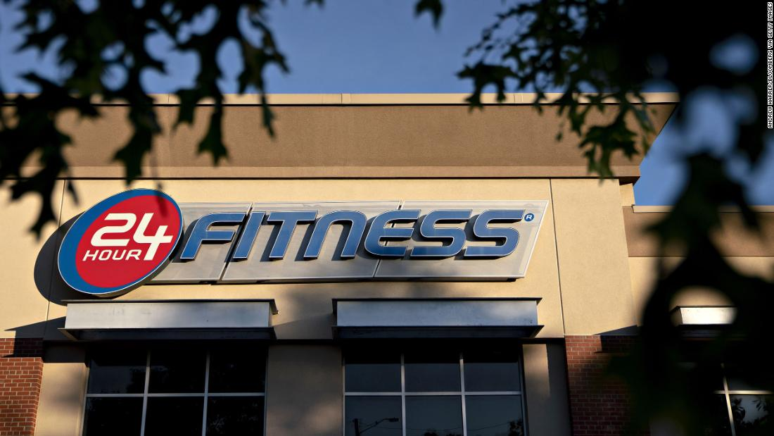 24 Hour Fitness files for bankruptcy and closes 100 gyms – CNN