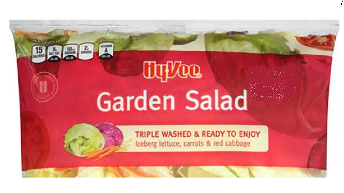 More than 600 people in 11 states get infections linked to bagged salad – CNN