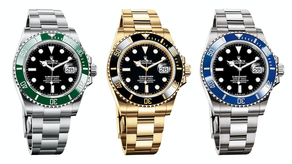 Introducing: The Rolex Submariner Date In 41mm (All Seven Variations) – HODINKEE